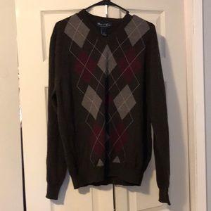 💯 wool sweater. XL brown